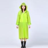 雨衣加厚旅游半透明雨衣女成人徒步防水