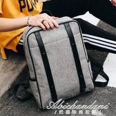 背包後背包男士大學生書包男時尚潮流休閒商務電腦包女旅行包黛尼時尚精品 黛尼時尚精品