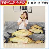 ✿mina百貨✿ 鯽魚造型抱枕 仿真公仔 貓咪玩具 靠墊 睡枕 毛絨玩具 娃娃玩偶 20CM 【F0214-2】