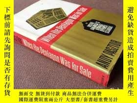 二手書博民逛書店When罕見the Pentagon was for sale: