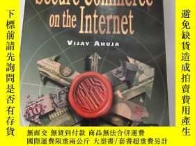 二手書博民逛書店Secure罕見Commerce on the Internet互聯網上的安全電子商務【原版 庫存Y6318