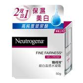 Neutrogena露得清細白晶透水凝霜50g【康是美】