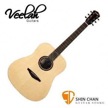 Veelah  V1-D 桶身/面單板-附贈Veelah木吉他袋/V1專用 民謠吉他 木吉他  (全配件)