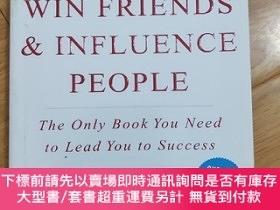 二手書博民逛書店HOW罕見TO WIN FRIENDS INFLUENCE PEOPLEY178467 HOW TO WIN