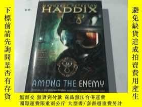 二手書博民逛書店英文原版:Among罕見the Enemy Haddix,Ma
