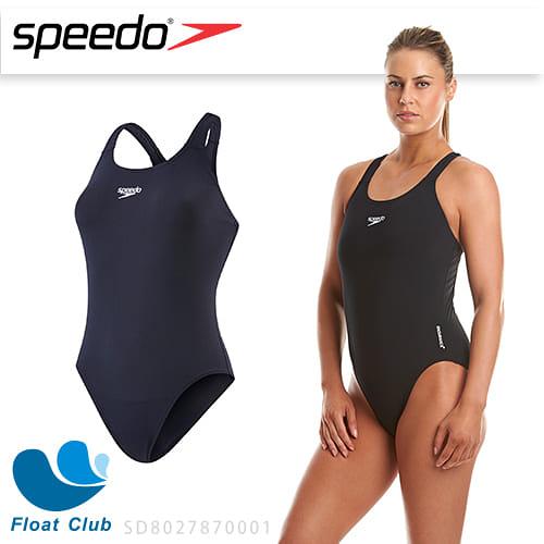 【零碼出清】SPEEDO 女 運動連身泳裝 Endurance+ Medalist 黑 SD8027870001