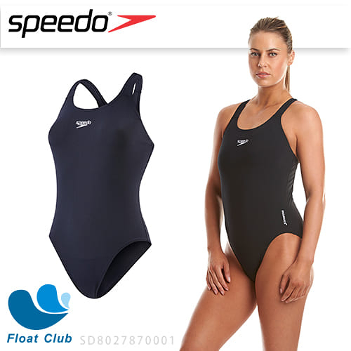 SPEEDO 女 運動連身泳裝 Endurance+ Medalist 黑 SD8027870001