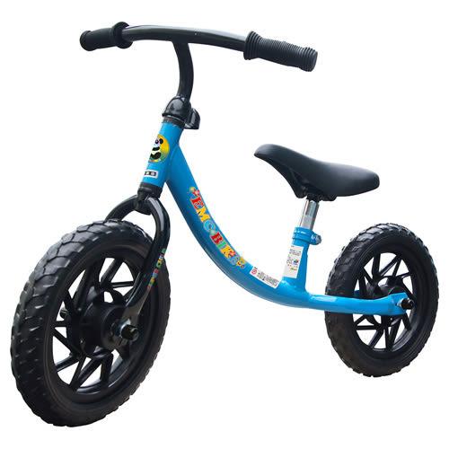 【奇買親子購物網】EMC 12吋兒童滑步車(紅色/水藍色)