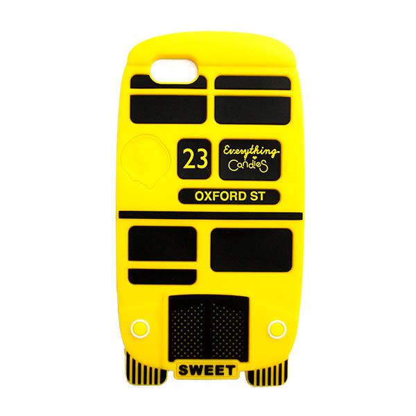 【Candies】London Bus(黃)-IPhone 5/5S/5C/SE