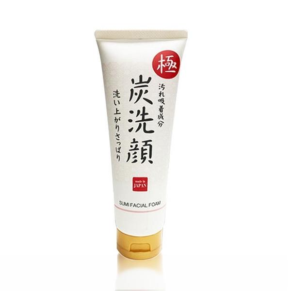 日本 KUM 熊野 極炭 毛孔 清潔 洗面乳150g