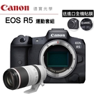 [分期0利率] 送3M進口全機貼膜 Canon EOS R5 + RF 100-500 F4.5-7.1 L IS USM 台灣佳能公司貨 EOS R RP R6