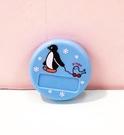 【震撼精品百貨】Pingu_企鵝家族~名牌扣-藍#23474