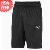 【現貨】PUMA REACTIVE KNIT 男裝 短褲 訓練 透氣 口袋 黑 歐規【運動世界】51898601