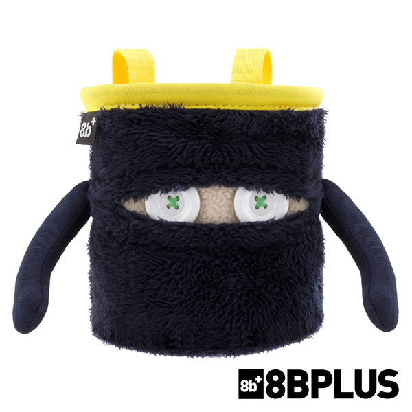 【8BPLUS】8b+ Chalk Bag 毛怪隨身置物袋『潔西』101015 戶外 登山 攀岩 束口袋 腰袋 岩粉袋 抱石束口袋