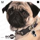 狗日子法國《BOBBY》金色香檳項圈 M號 亮眼時尚新設計 方便扣環 中型犬項圈