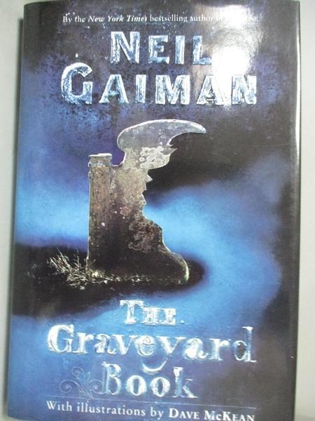 【書寶二手書T1/原文小說_HPO】The Graveyard Book_Gaiman, Neil/ McKean, Dave (ILT)