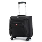 新品瑞士軍刀拉桿箱牛津布登機箱18寸萬向輪旅行箱男女行李箱包大