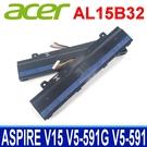ACER AL15B32 . 電池 V5-591G-76R6 V5-591G-777P V5-591G-75YC V5-591G-55U V5-591G-51W2 V5-591G-71K2 V5-591G-57LK V5-591G-53QR