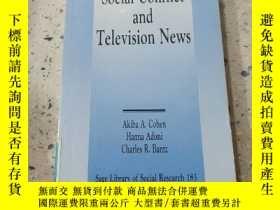 二手書博民逛書店Social罕見conflict and Television