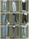 薄款牛仔褲男士春秋2021新款韓版夏季寬鬆潮流淺色直筒休閒長褲子 夢幻小鎮