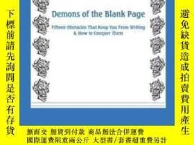 二手書博民逛書店Demons罕見Of The Blank PageY307751 Roland Merullo Ajar Co