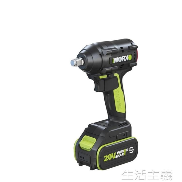電動扳手 威克士worx電動扳手大扭力鋰電無刷WU279 架子工專用充電風炮工具 MKS生活主義