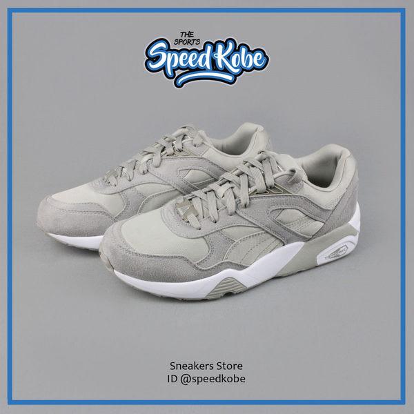 Puma Trinomic R698 灰白 織布 麂皮 慢跑鞋 復古 男女 36059202 ☆SP☆