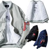 【夾棉】雙口袋休閒運動外套 潮流風衣外套防風夾克 3色 M-4XL碼【CW44049】