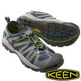【KEEN 美國】MCKENZIE II 男護趾水陸 兩用鞋『深藍/灰』1016532 健行|溯溪|健走|海邊|沙灘
