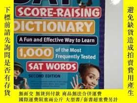 二手書博民逛書店罕見外文書 Kaplan SAT Score-Raising D