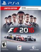 PS4 一級方程式賽車 2016(美版代購)