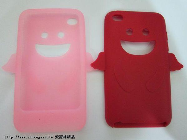 iPod touch 4代 天使果凍套【E6-020】矽膠套 果凍套 保護套 Alice3C