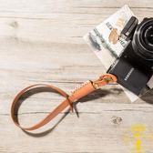 手工牛皮相機帶手腕帶微單單反復古真皮手拎帶子【雲木雜貨】