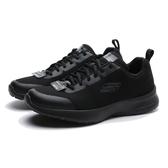 SKECHERS 慢跑鞋 SKECH AIR 全黑 輕量 休閒鞋 工作鞋 男 (布魯克林) 232007BBK