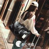 短途旅行包男手提包女大容量旅游包簡約行李包防水運動包健身包潮-奇幻樂園