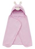 奇哥吸濕速乾造型浴袍巾-粉色小兔 863元