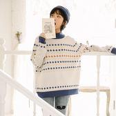 慵懶風超火毛衣女冬秋季2018新款韓版寬鬆原宿外套學生套頭針織衫  良品鋪子