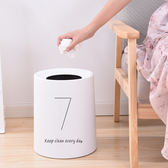 中式無蓋紙簍廚房衛生間時尚創意垃圾筒~