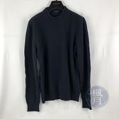 BRAND楓月 LOUIS VUITTON 路易威登 LV VCCM08 黑藍原花毛衣 上衣 #M