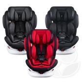 德國 Osann Swift360 isofix 0~12歲360度旋轉多功能汽車座椅(灰/黑/紅 )