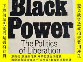 二手書博民逛書店英文原版:black罕見power- the politics of liberation in america