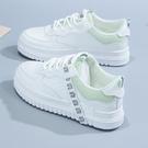 小白鞋 女2021春季新款韓版學生白鞋時尚ins潮休閑平底低幫板鞋女 伊莎公主