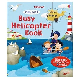 【麥克書店】 PULL-BACK BUSY HELICOPTER BOOK /遊戲書