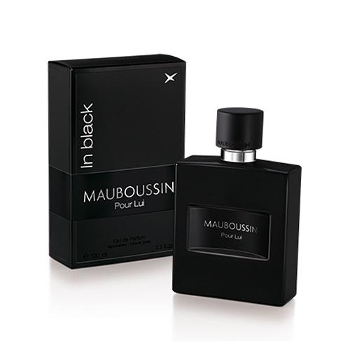 (即期品)MAUBOUSSIN Pour Lui In Black 夢寶星黑色絕對男性淡香精 100ml