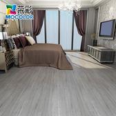 加厚PVC地板貼耐磨防水地膠自粘地板革家用地板貼紙臥室塑膠地板 IGO