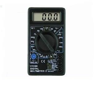 電子式三用電錶 數位式三用電表 簡易型的測電工具