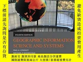 二手書博民逛書店罕見Geographic Information Science
