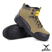 PAMAX 帕瑪斯【安全鞋專家】-戶外登山休閒型-專利銀纖維抗菌氣墊工作鋼頭鞋- PA00315H男