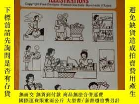 二手書博民逛書店英文原版罕見Ready-to-Use Humorous Food