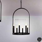 吊燈★簡約設計 拱型燭台吊燈 6燈✦燈具燈飾專業首選✦歐曼尼✦